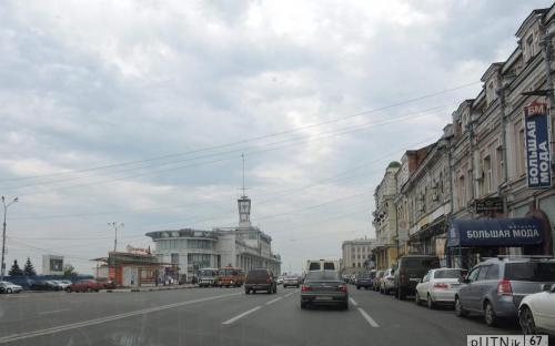 Нижне-Волжская набережная в Нижнем Новгороде