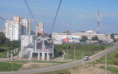 """Станция """"Борская"""" Нижегородской канатной дороги"""
