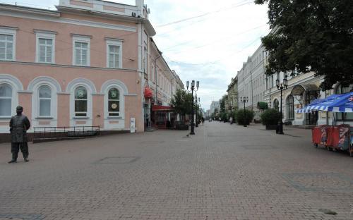 Улица Большая Покровская в Нижнем Новгороде