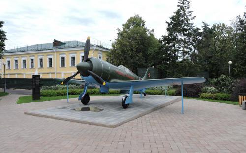 Самолет Ла-7 в Нижегородском Кремле