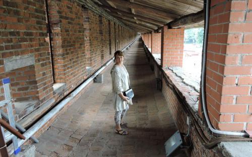 Прогулка по крепостной стене Нижегородского кремля