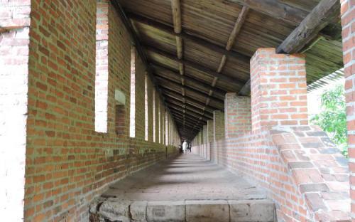 Коридор крепостной стены Нижегородского Кремля