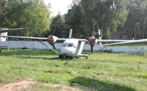 """Пассажирский самолет Ан-14А """"Пчёлка"""" в Музее Военно-воздушных сил в Монино"""