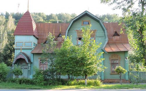 Дом с русалками в г. Гороховец