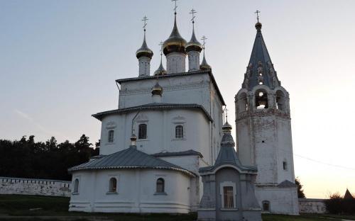 Собор Троицы Живоначальной в Никольском Гороховецком монастыре