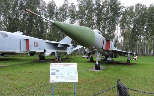 Истребитель-перехватчик Су-15 в Музее Военно-воздушных сил в Монино