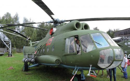 Вертолет Ми-8Т в Музее Военно-воздушных сил в Монино