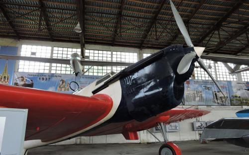 Самолет рекордной дальности АНТ-25 в Музее Военно-воздушных сил в Монино