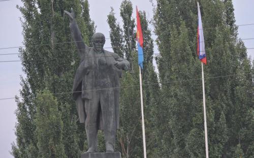 Тамбов. Памятник Ленину