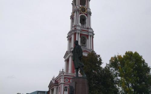 Колокольня Казанского  мужского монастыря в Тамбове