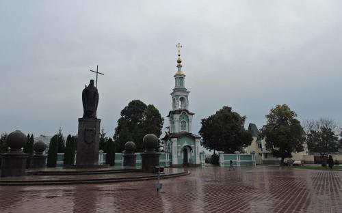 Тамбов. Колокольня Спасо-Преображенского кафедрального собора