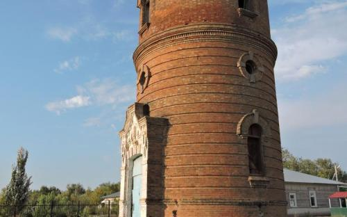 Водонапорная башня в Эльтоне